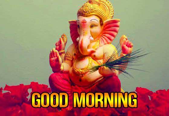 Lord Ganesha Good Mornign Pics