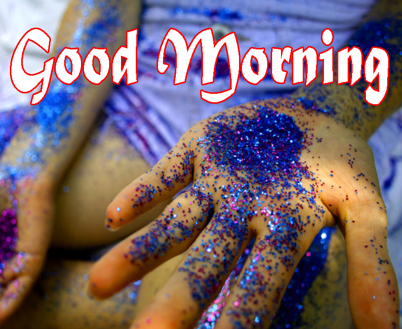 Good Morning Glitters Wallpaper Free Download