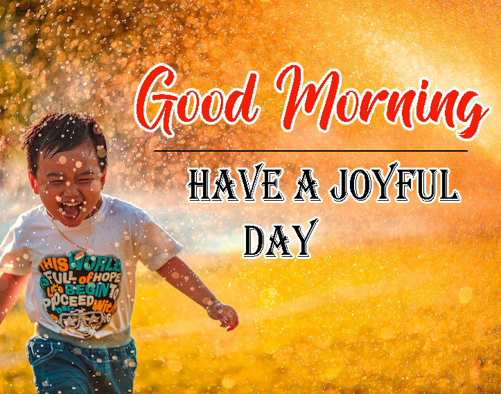 Joyful good morning Photo for Facebook