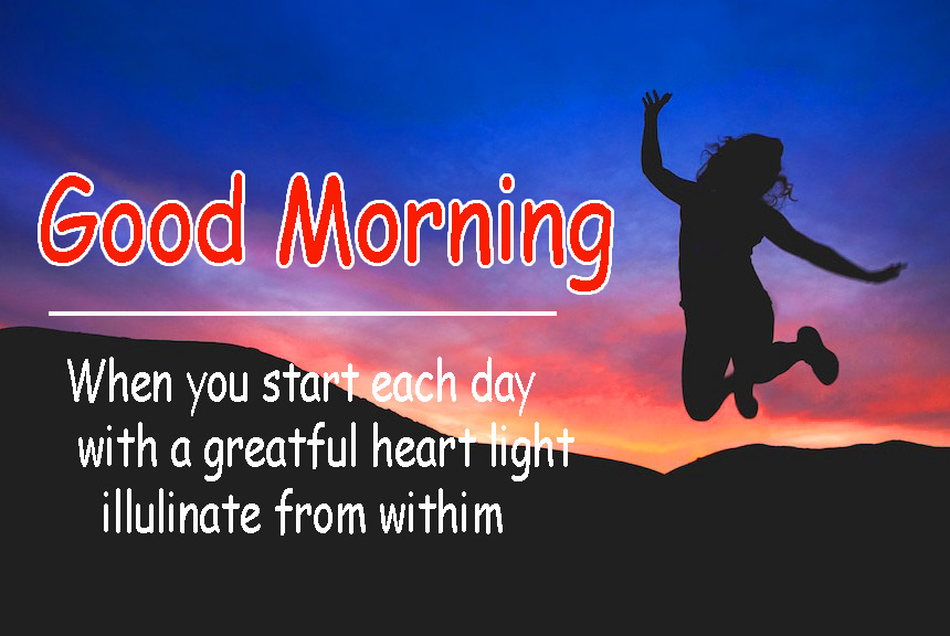 Joyful good morning Wallpaper Download