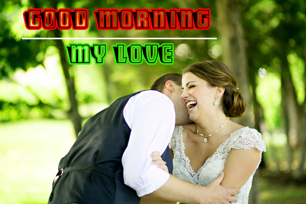 Love Couple Good Morning Images With Wedding Couple