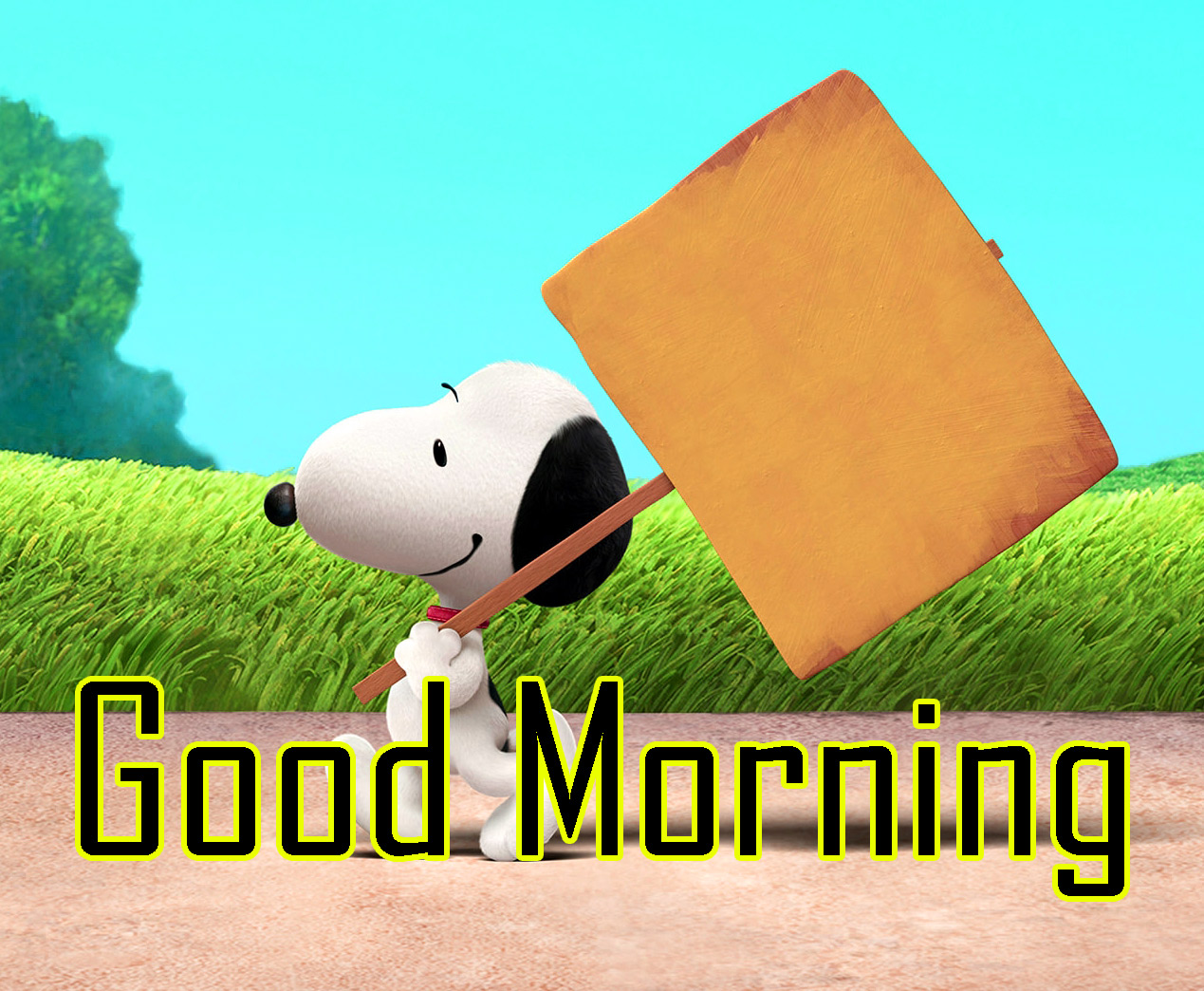 Snoopy Good Morning Wishes 12