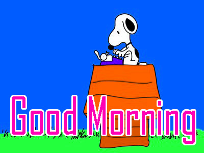 Best Quality Snoopy Good Morning Wishes Pics Download