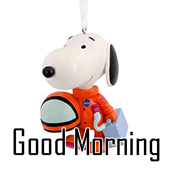 Snoopy Good Morning Wishes 2