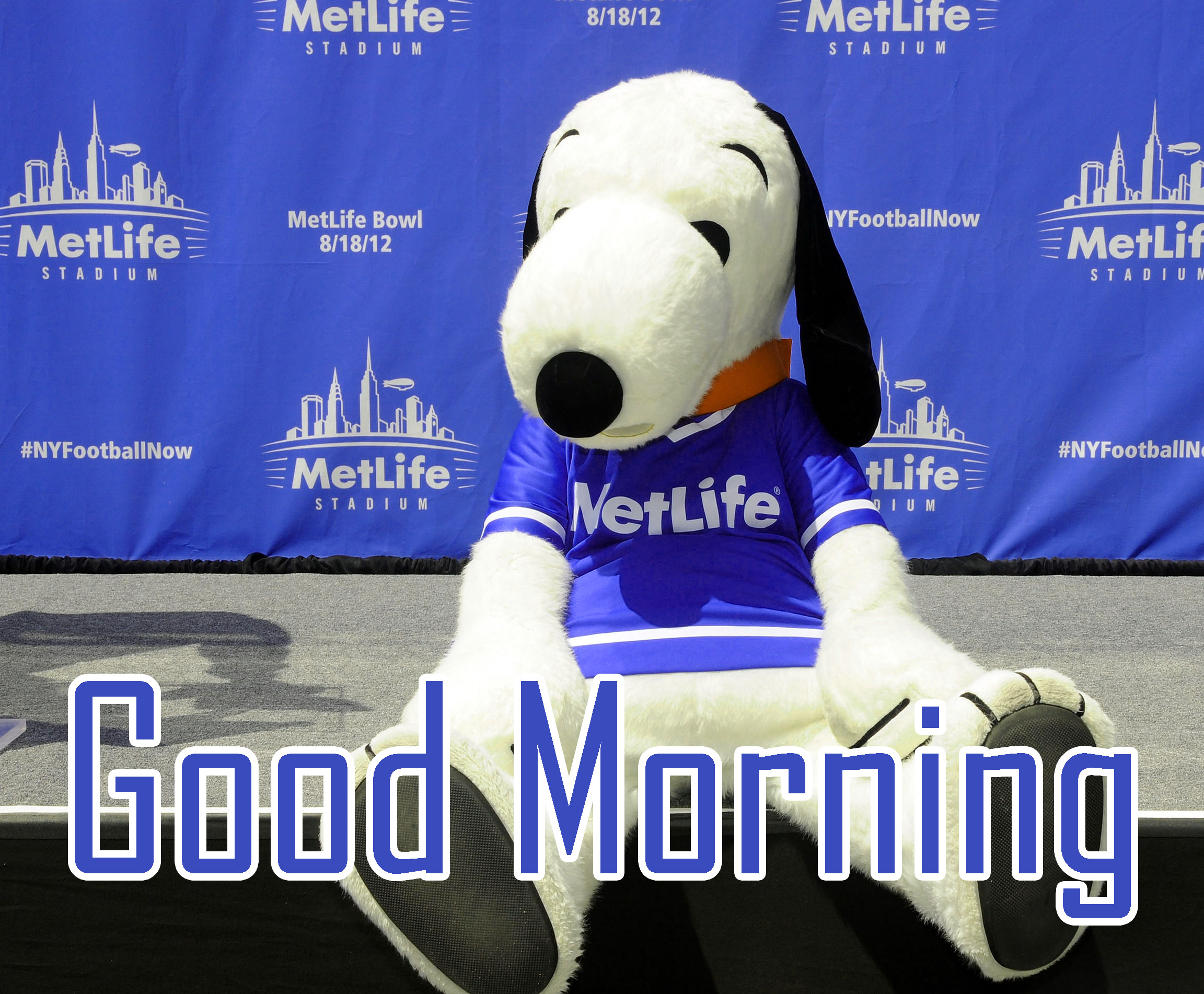 Free Snoopy Good Morning Wishes Photo Download