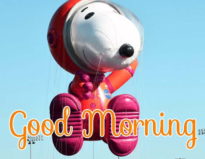 Free Snoopy Good Morning Wishes Wallpaper Download