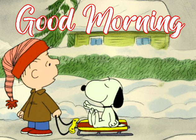 Cartoon Snoopy Good Morning Wishes Pics Download