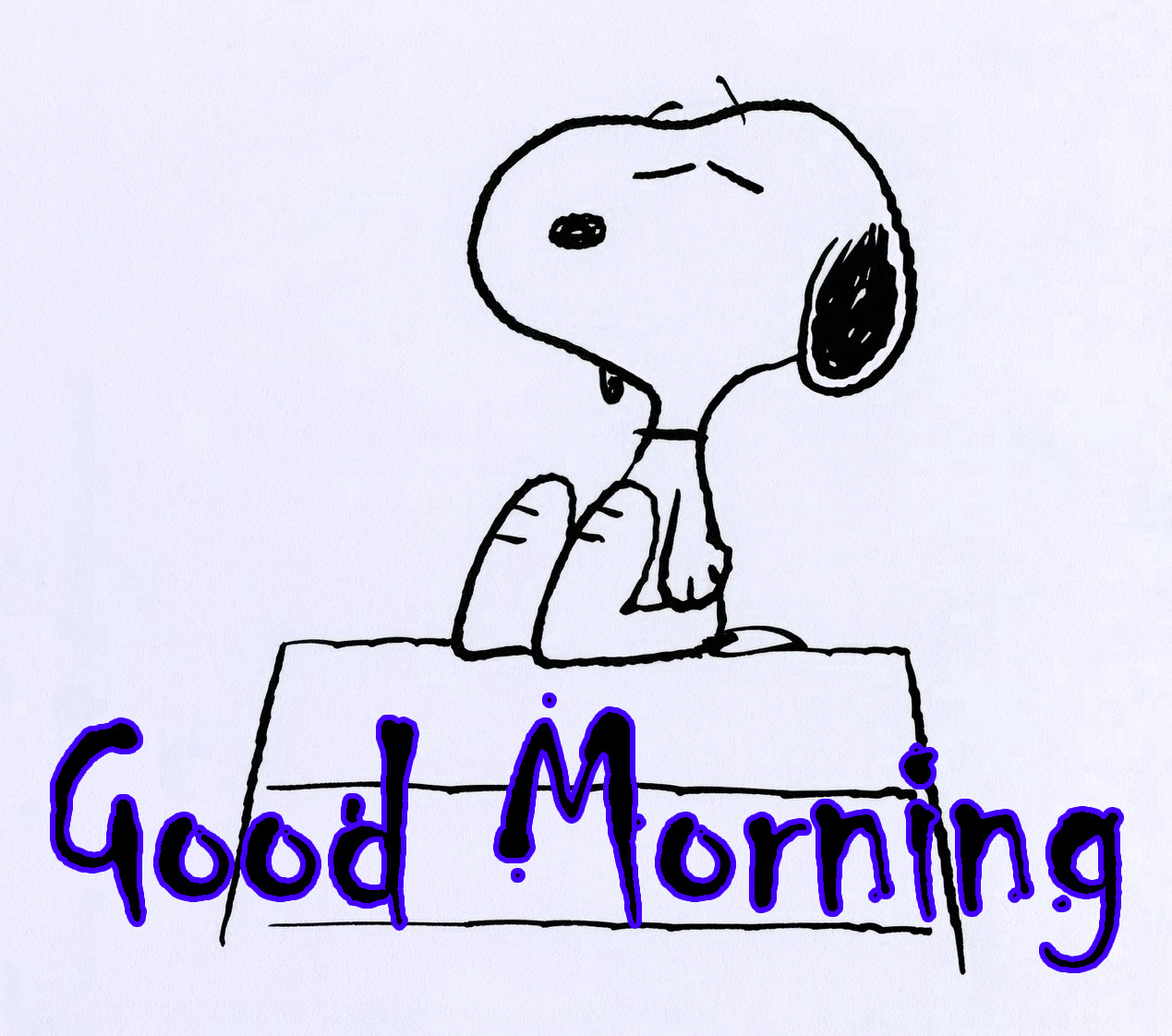 Snoopy Good Morning Wishes 8