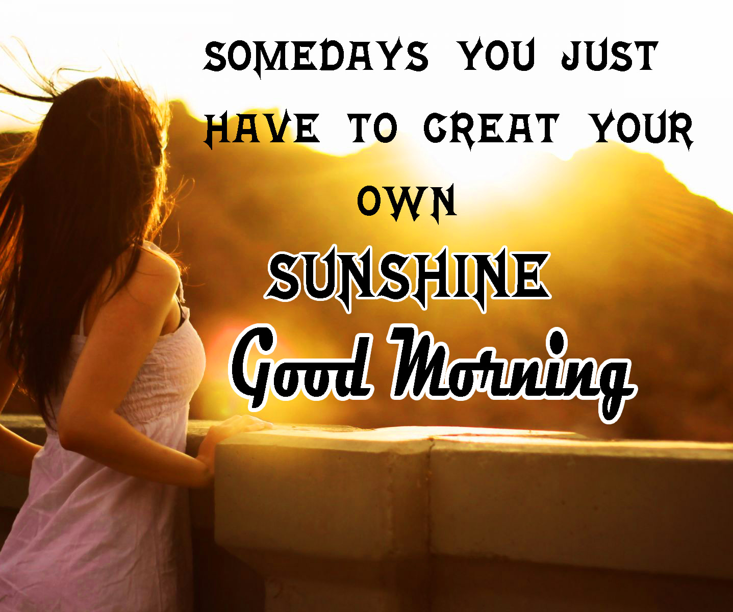 Sunsine Good Morning Images Wallpaper pics