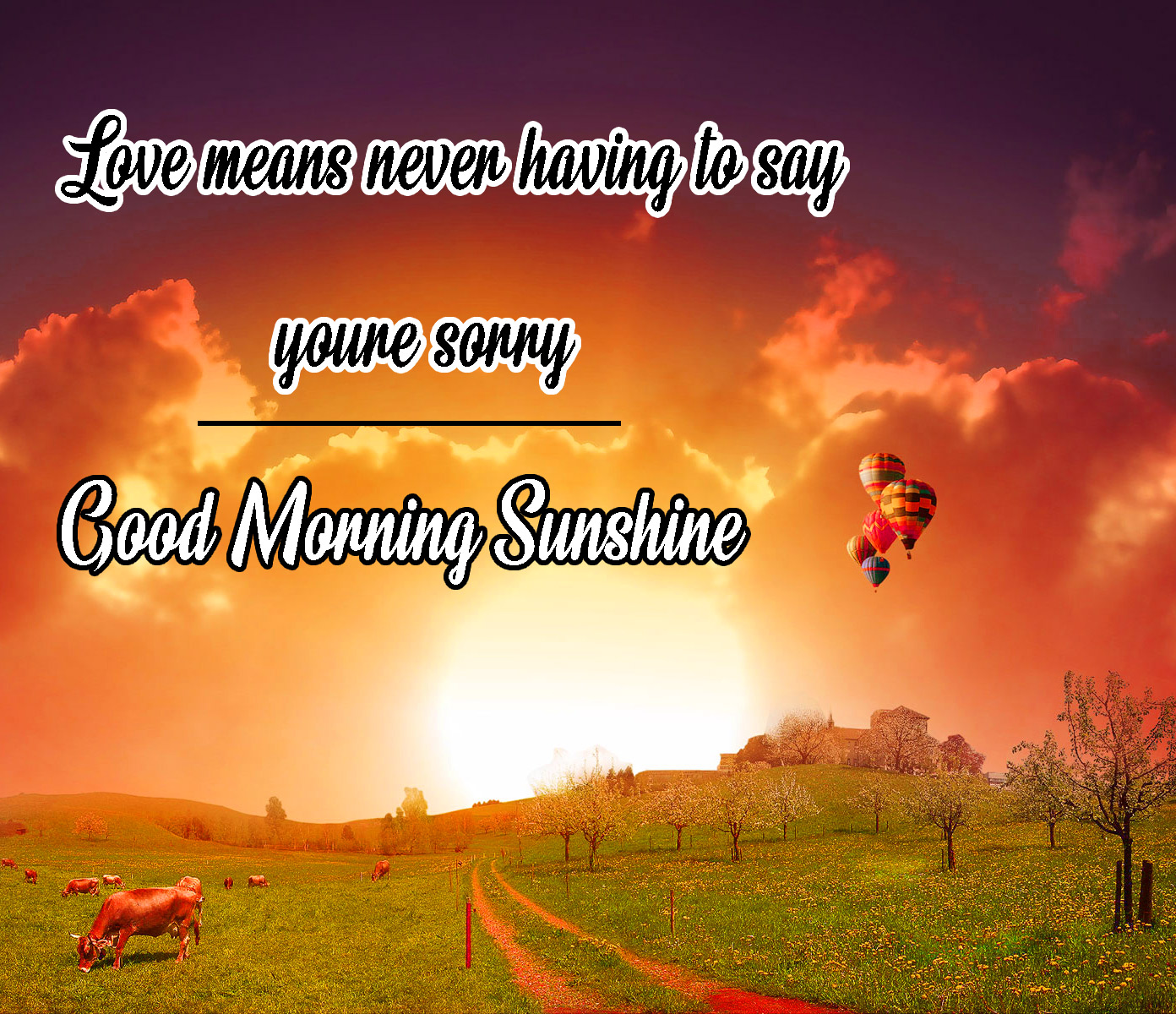 Sunsine Good Morning Images Pics Free Download