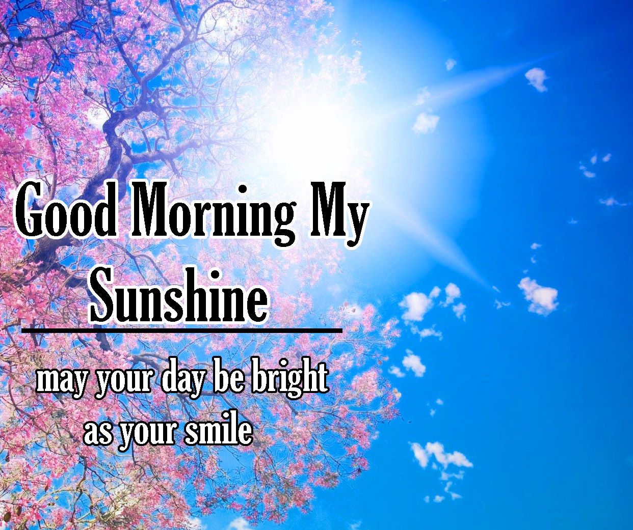 Sunsine Good Morning Images Pics Download