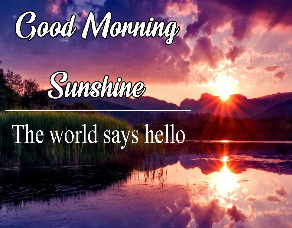 Sunsine Good Morning Images Wallpaper Pics Download