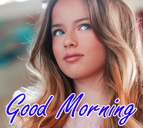 Most Beautiful Girl In the World Good Morning photo for Facebook