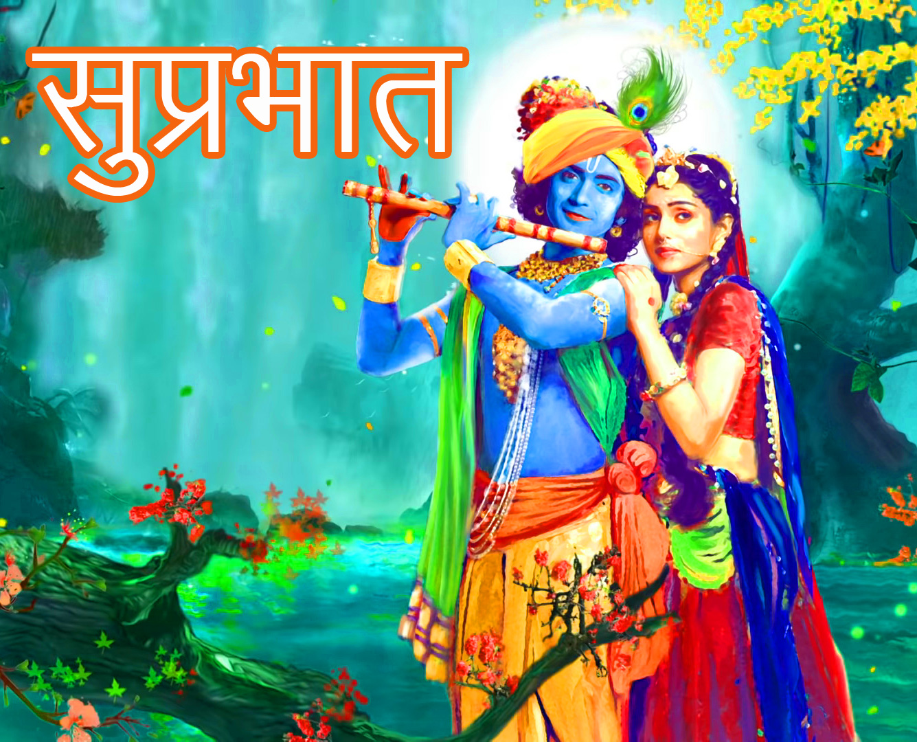 Radha Krishna Good Morning Images Free Latest
