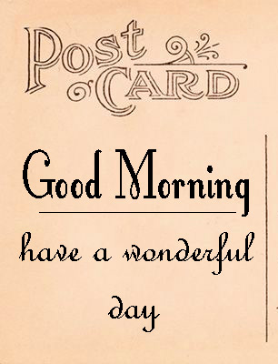 good morning postcard images Pictures Free