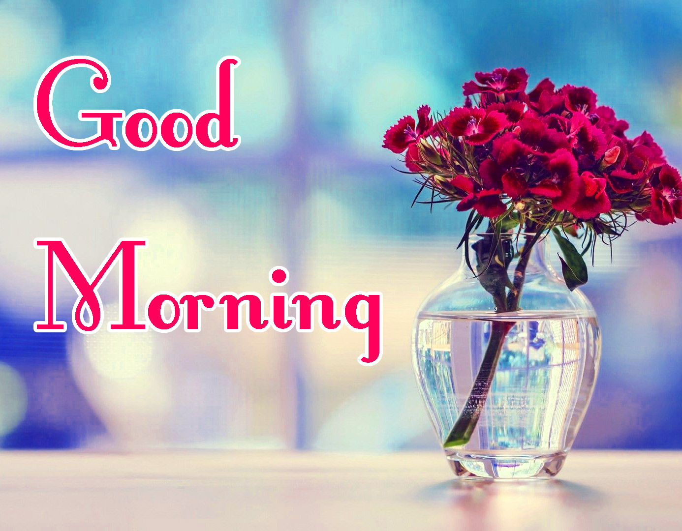 Beautiful Free good Morning Images With Flower
