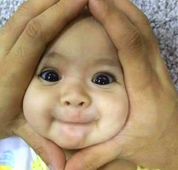 Funny Whatsapp DP Images Pics With Cute Baby Boy
