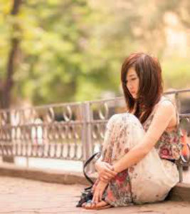Sitting Alone Sad Girl Images For Dp For Whatsapp photo hd