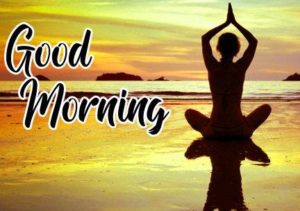 Latest Free Good Morning Images For Yoga Lover Pics Download