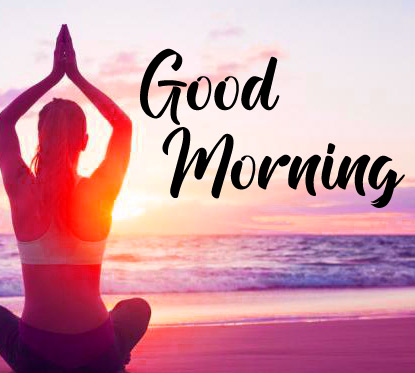 New Free Good Morning Images For Yoga Lover Pics Download