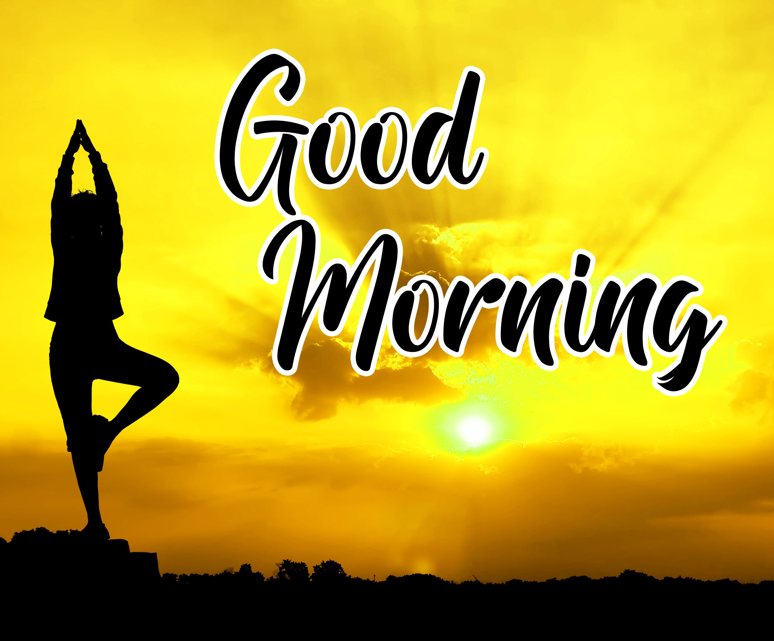 Free Sweet Good Morning Images For Yoga Lover Pics Download