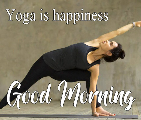 Full HD Good Morning Images For Yoga Lover Pics Download