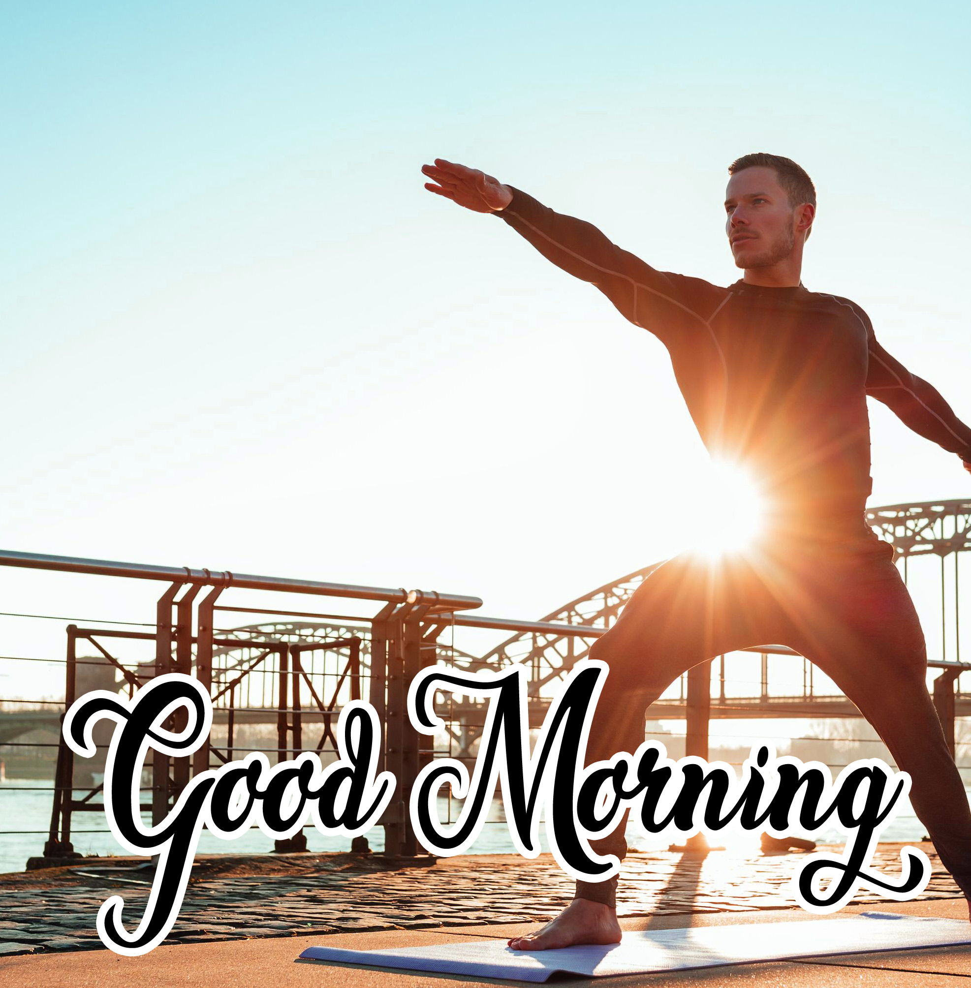 Free Good Morning Images For Yoga Lover Photo Download