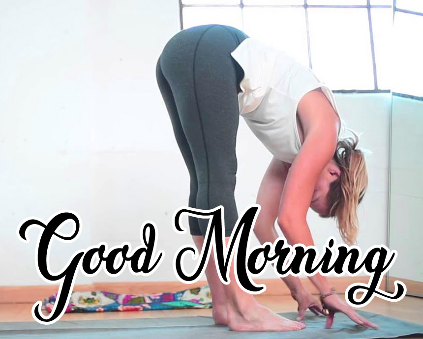 New Good Morning Images For Yoga Lover pics for Girls Free
