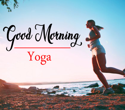Latest Free Good Morning Images For Yoga Lover Photo Download