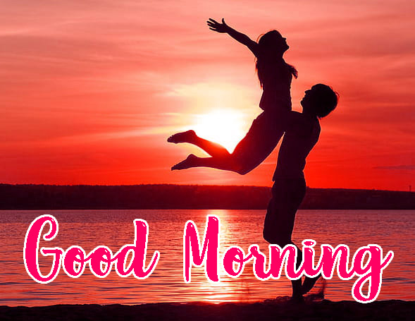 Love Couple Good Morning Pics
