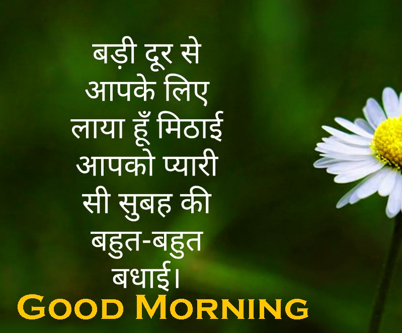 Hindi Good Morning Images 13