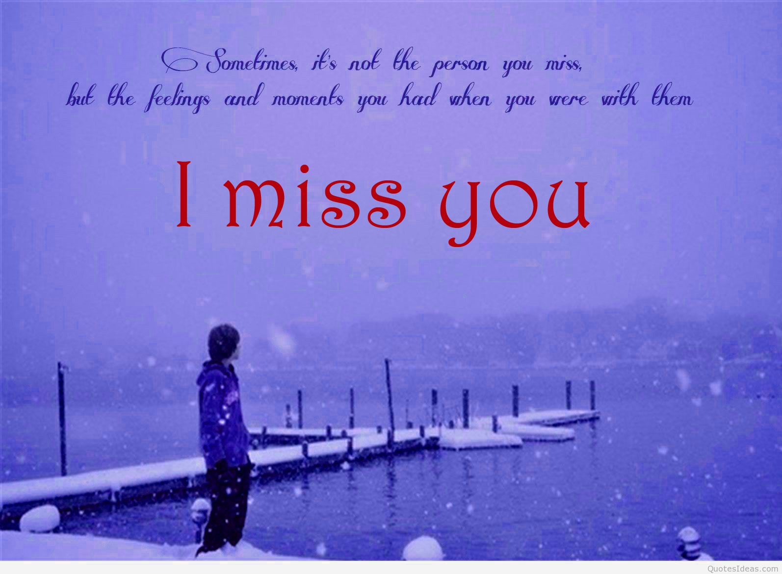 I miss you Wallpaper Pics
