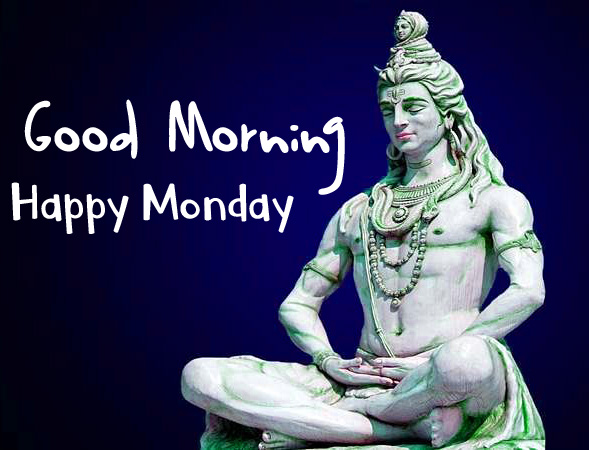 Monday Good Morning Images Pics Wallpaper hd With Hindu God Shiva