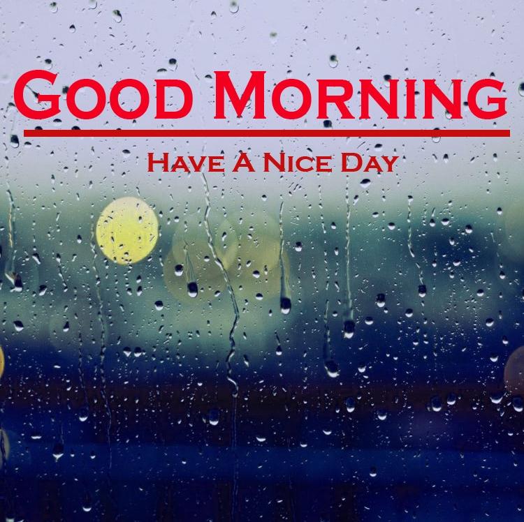 Rainy Day Good Morning Images 1
