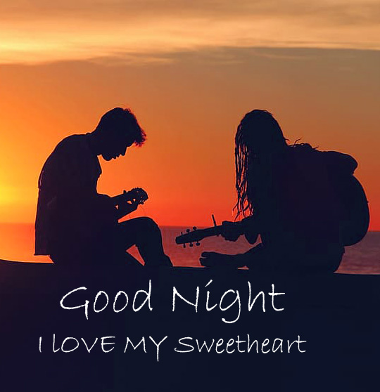 Lover good night Pic Download