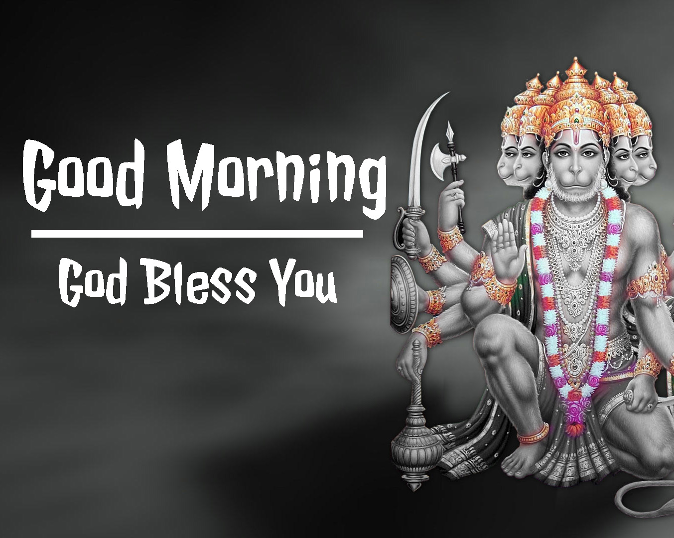 god bless good morning images With Hanuman Ji