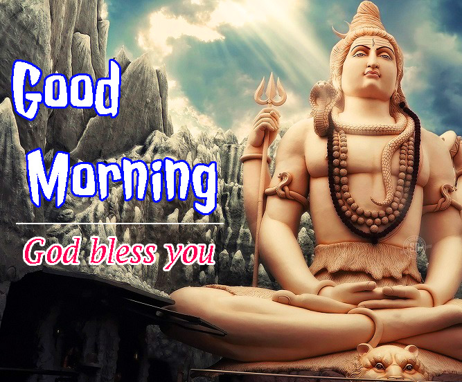 god bless good morning images With Lord Shiva