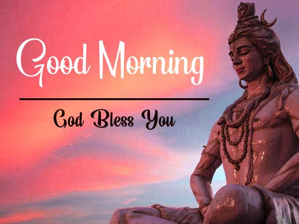 Lord Shiva good morning images Pics