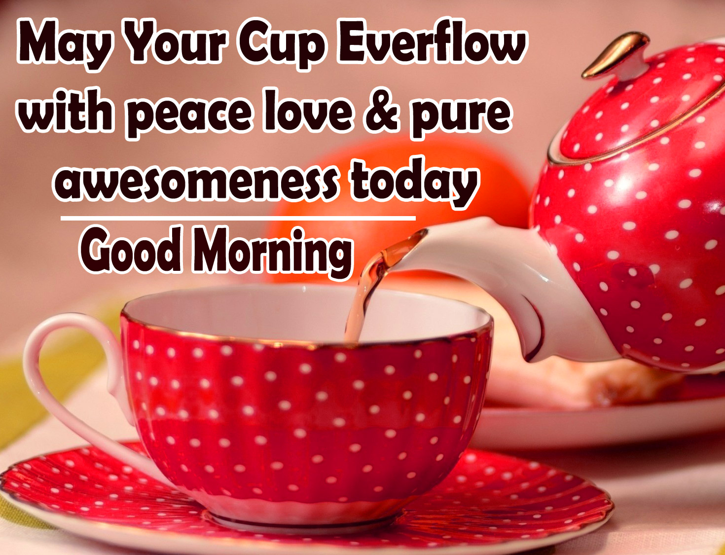 Good Morning Tea Cup Images Free