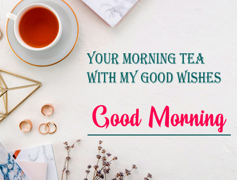 Good Morning Tea Cup Wallpaper Download