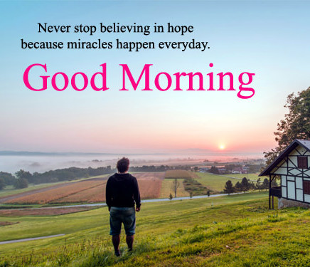 Good morning thought Images HD Download