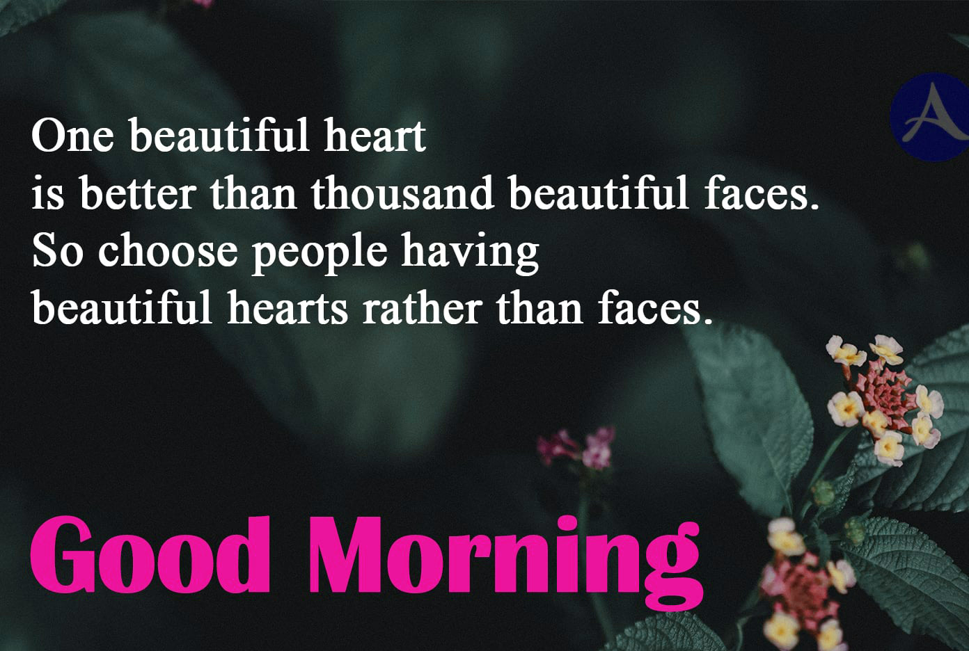 Good morning thought Photo for Facebook