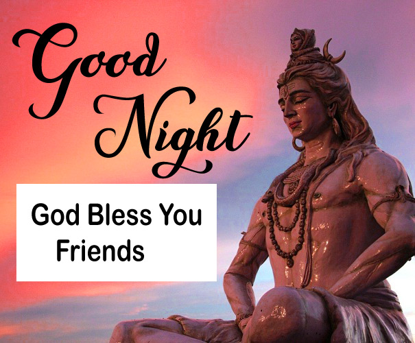 Lord Shiva Free Good Night Wishes Pics Download