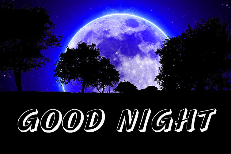 3D Good Night Images Photo for Facebook