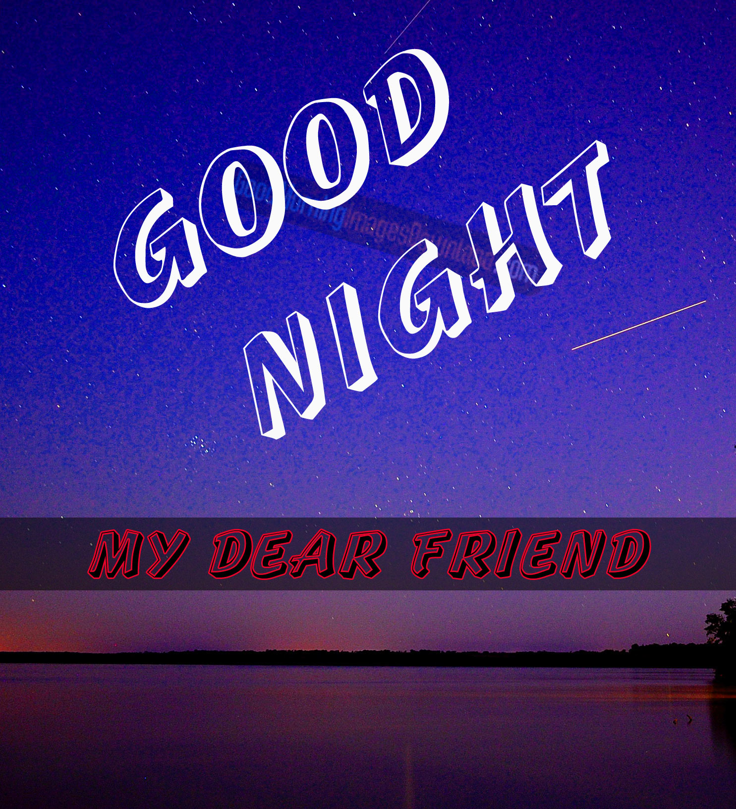 3D Good Night Images Wallpaper for Whatsap