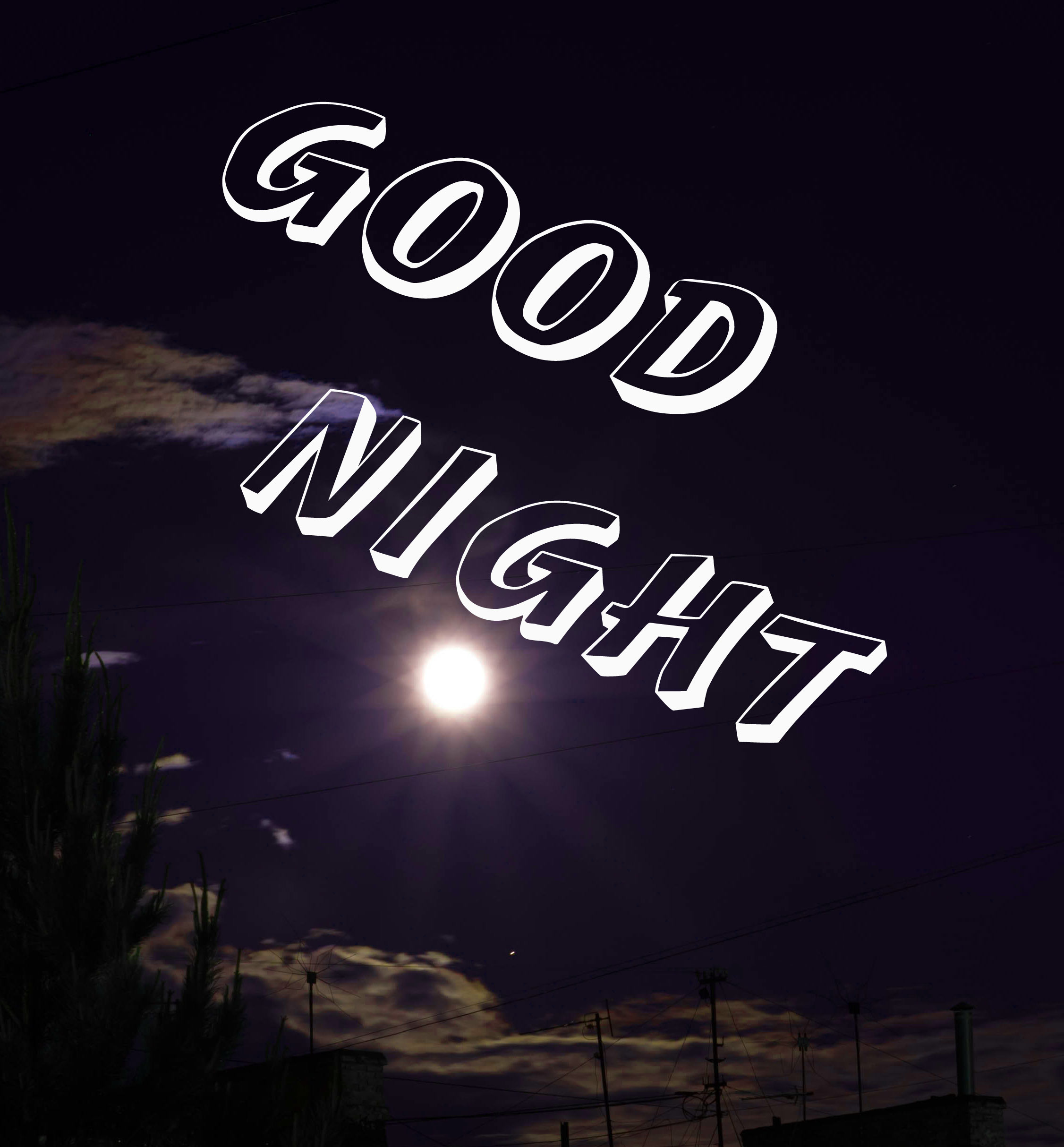 3D Good Night Images Pics Download