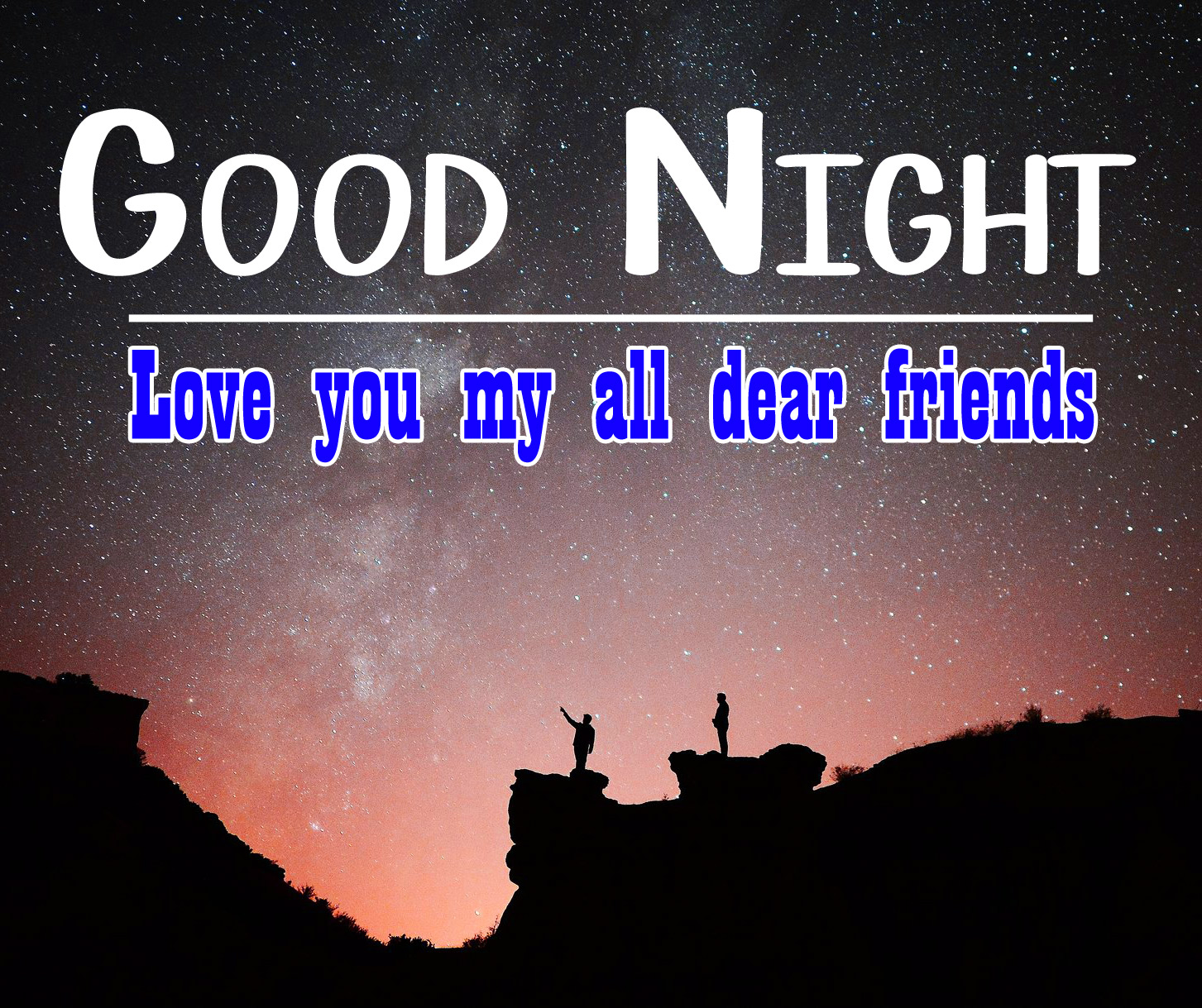good night images for friend 1