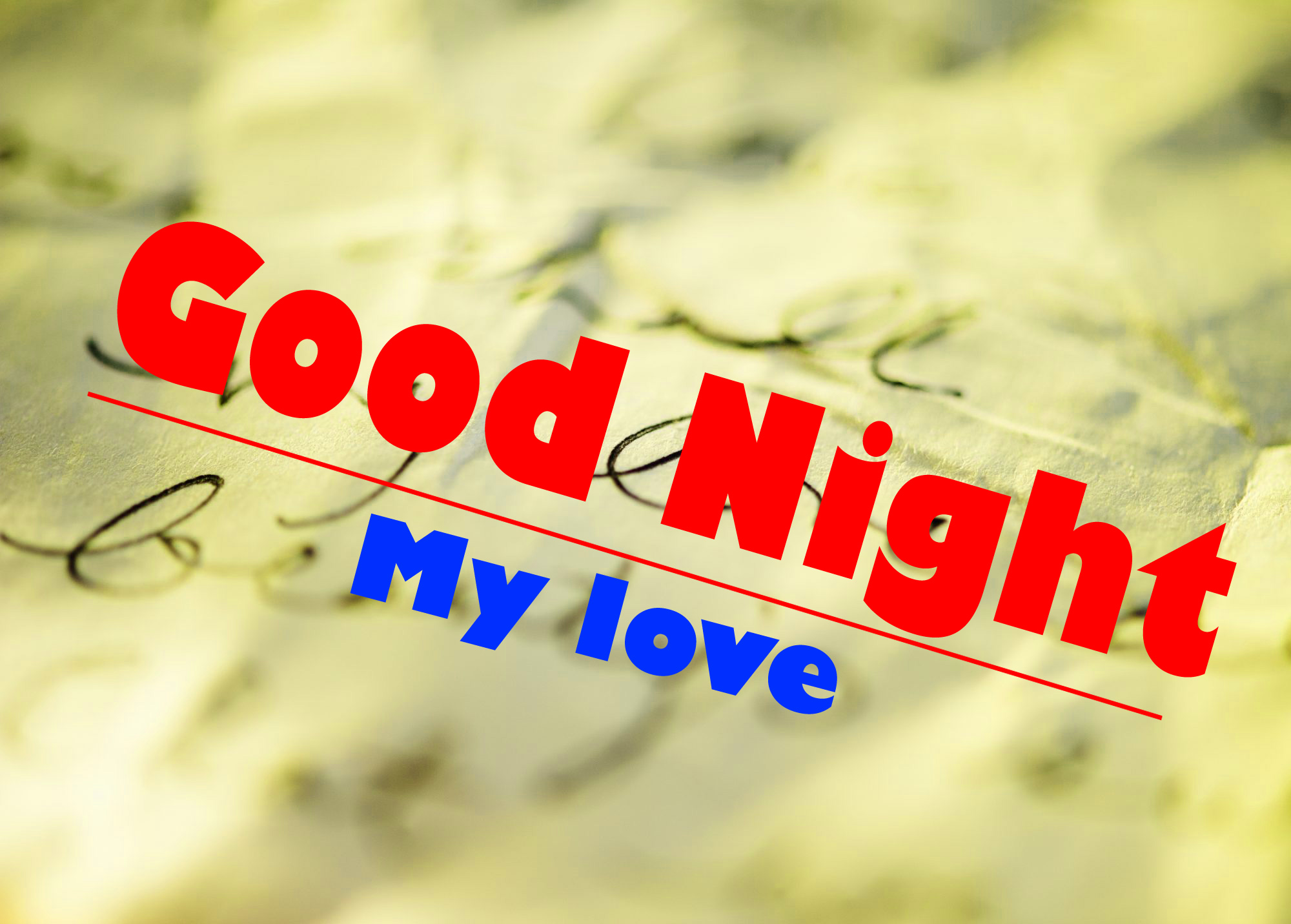 good night wallpaper for romantic love couple 2