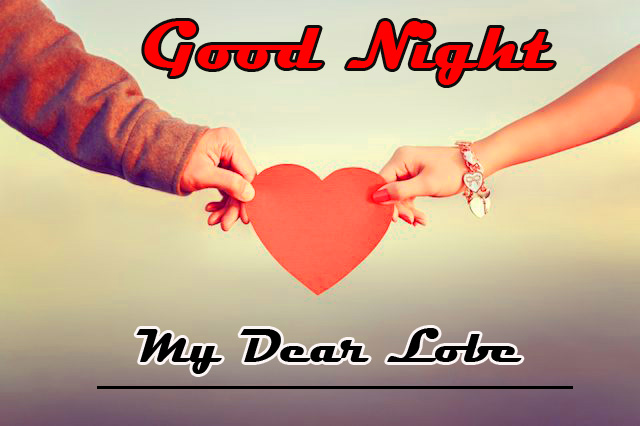 good night wallpaper for romantic love couple 3