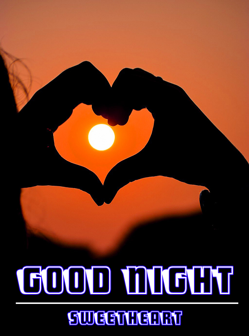 good night wallpaper for romantic love couple 4